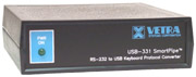 USB-331 RS-232 serial to USB keyboard protocol converter