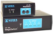VIP-702 and VIP-704 KVM Switch