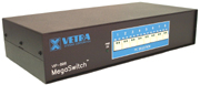 VIP-808-KMV KVM Switch