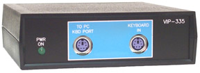 VIP-335 RS-232 to PS/2 Keyboard Protocol Converter