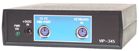 VIP-345 PS/2 Keyboard Protocol to RS-232 Converter
